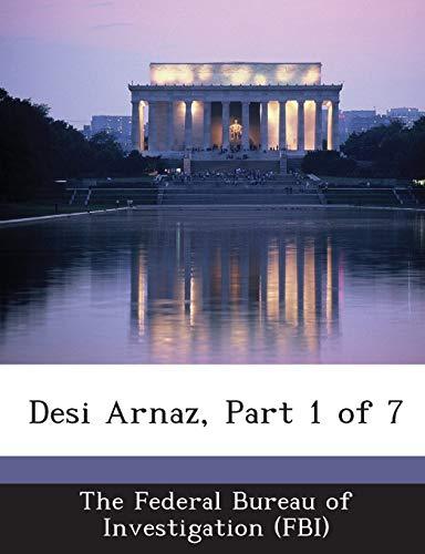 9781288561919: Desi Arnaz, Part 1 of 7