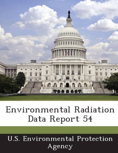 9781288650958: Environmental Radiation Data Report 54