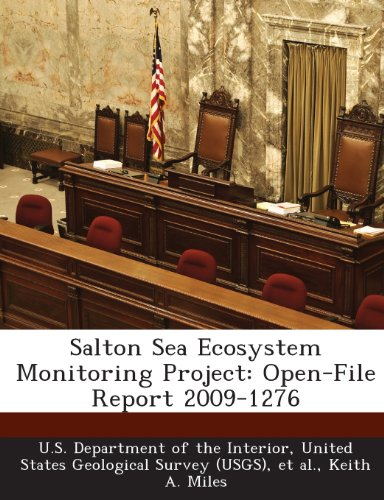 9781288689538: Salton Sea Ecosystem Monitoring Project: Open-File Report 2009-1276