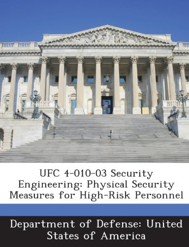9781288757190: UFC 4-010-03 Security Engineering: Physical Security Measures for High-Risk Personnel