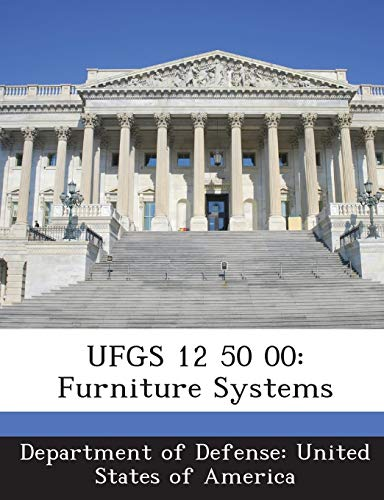 9781288760992: UFGS 12 50 00: Furniture Systems