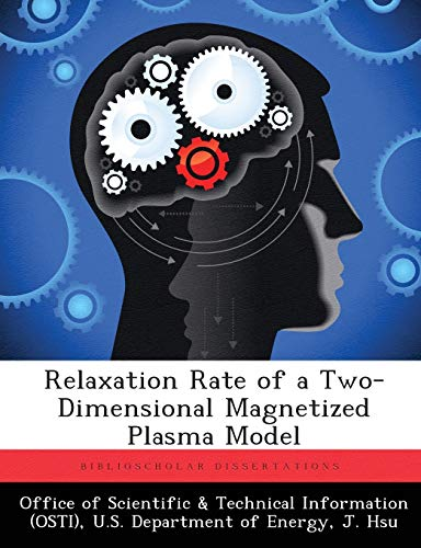 Relaxation Rate of a Two-Dimensional Magnetized Plasma Model: J. Hsu