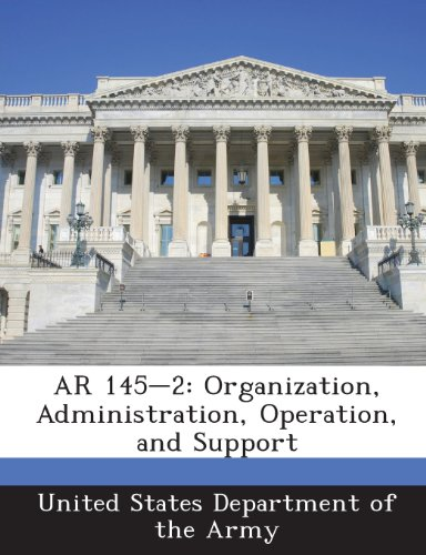 9781288892082: AR 145-2: Organization, Administration, Operation, and Support