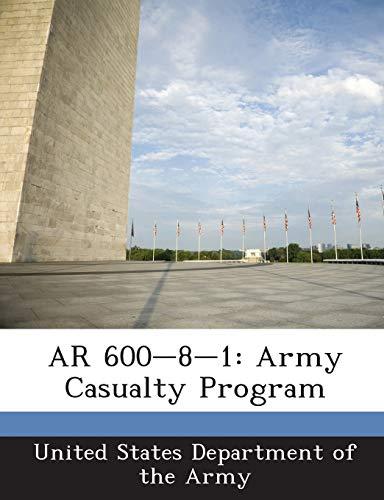 9781288893805: AR 600-8-1: Army Casualty Program