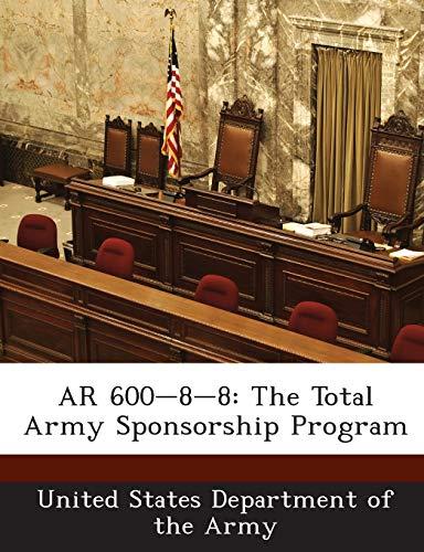 9781288894093: AR 600-8-8: The Total Army Sponsorship Program