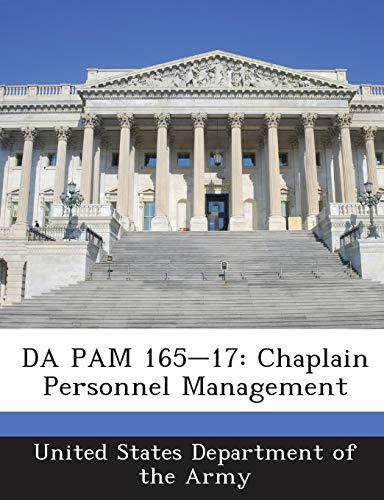 9781288900855: DA PAM 165-17: Chaplain Personnel Management