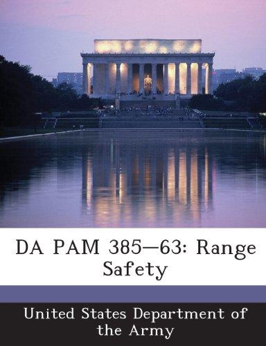 9781288901081: DA PAM 385-63: Range Safety