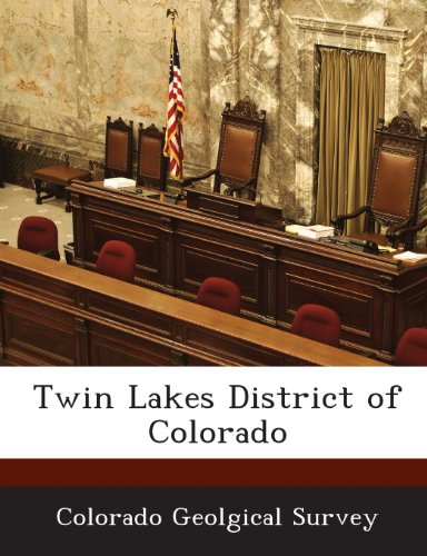 9781288918713: Twin Lakes District of Colorado
