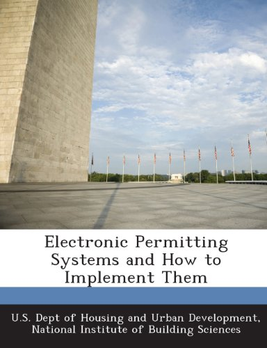 9781288920945: Electronic Permitting Systems and How to Implement Them