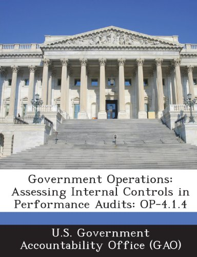 9781289106201: Government Operations: Assessing Internal Controls in Performance Audits: Op-4.1.4
