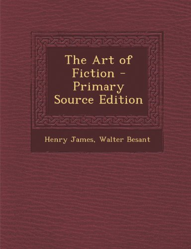 9781289259853: The Art of Fiction