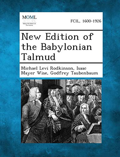 9781289353469: New Edition of the Babylonian Talmud