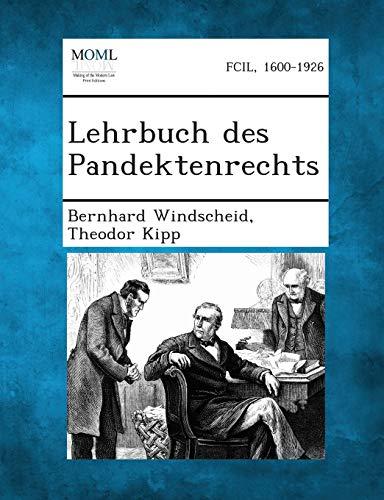 9781289357153: Lehrbuch Des Pandektenrechts (German Edition)