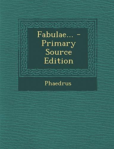 9781289382155: Fabulae... (Latin Edition)