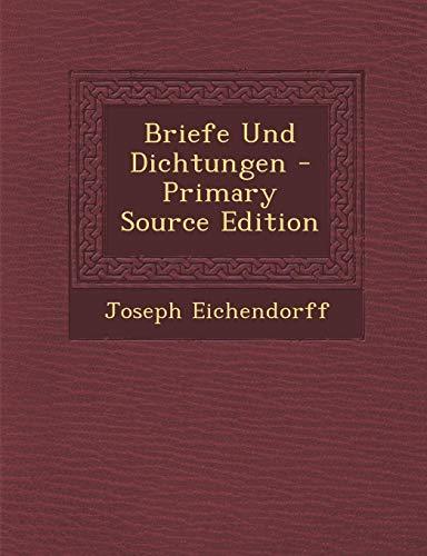 9781289391799: Briefe Und Dichtungen