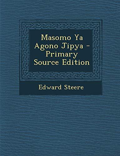 9781289422158: Masomo Ya Agono Jipya (Swahili Edition)