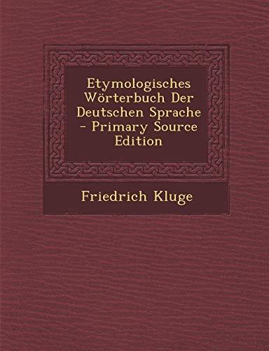 9781289488147: Etymologisches Wörterbuch Der Deutschen Sprache