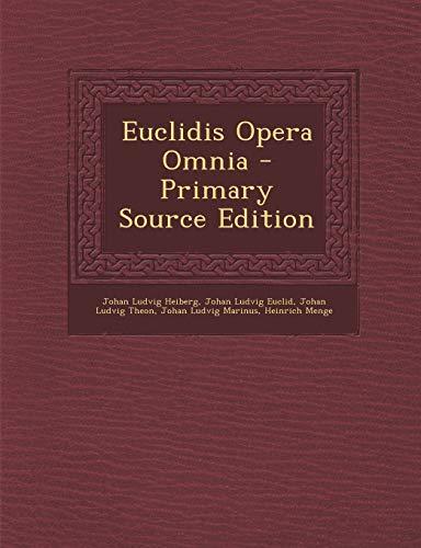 9781289507596: Euclidis Opera Omnia