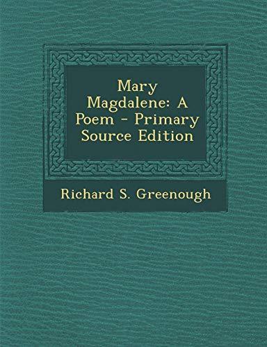 9781289525552: Mary Magdalene: A Poem