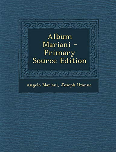 9781289530341: Album Mariani (French Edition)