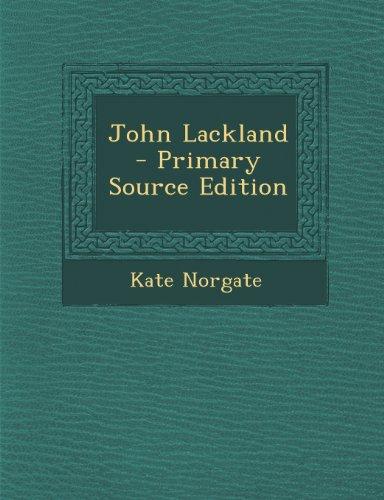 9781289534981: John Lackland