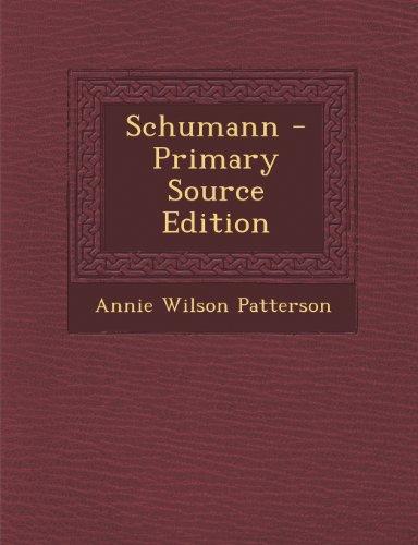 9781289545093: Schumann