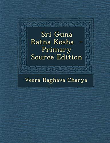 9781289599386: Sri Guna Ratna Kosha (Telugu Edition)