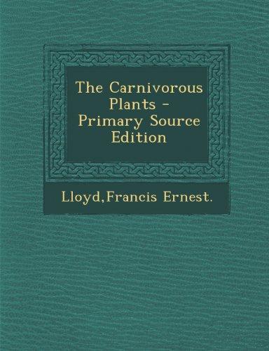 9781289702939: The Carnivorous Plants
