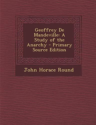 a study of anarchy