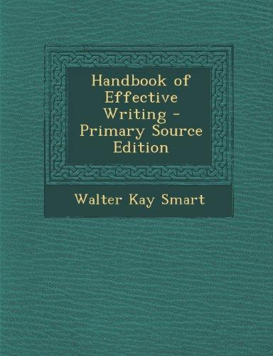 9781289746865: Handbook of Effective Writing