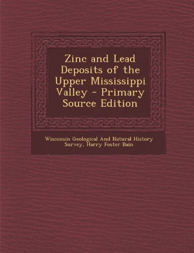 Zinc and Lead Deposits of the Upper
