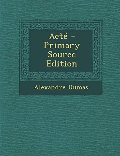 9781289774561: Acte (Cambridge Studies in Renaissance Literature and Culture)
