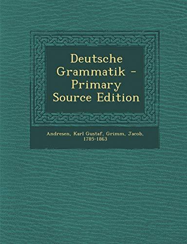 9781289799809: Deutsche Grammatik (German Edition)