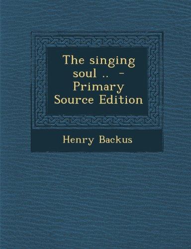 9781289800239: Singing Soul