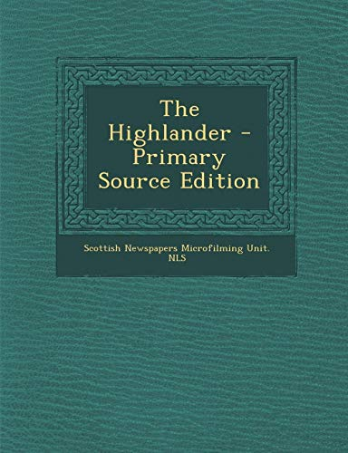 9781289803391: Highlander