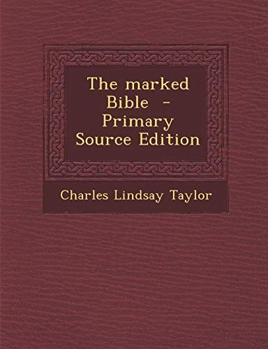 9781289827090: The marked Bible