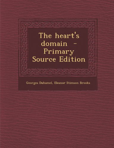 9781289849665: The heart's domain