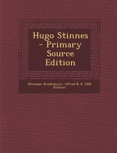 9781289875855: Hugo Stinnes