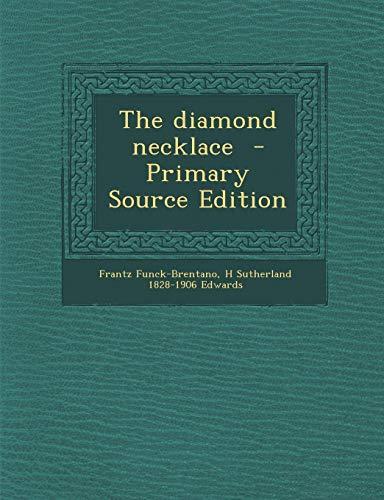 9781289889890: Diamond Necklace
