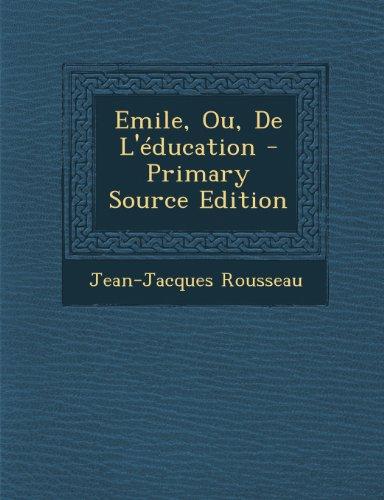 9781289913045: Emile, Ou, de L'Education