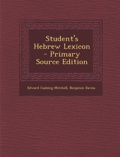 9781289932381: Student's Hebrew Lexicon