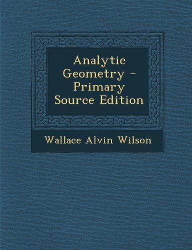 9781289951757: Analytic Geometry