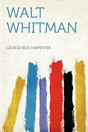 9781290045070: Walt Whitman