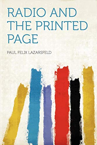 9781290352246: Radio and the Printed Page