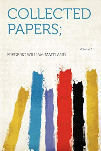 9781290547819: Collected Papers; Volume 1