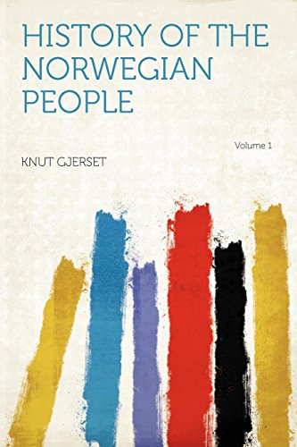 9781290818902: History of the Norwegian People Volume 1
