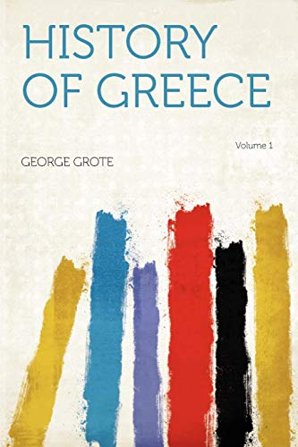 9781290903851: History of Greece Volume 1