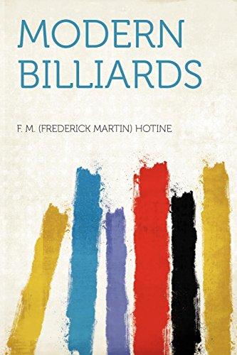 Modern Billiards: F. M. (Frederick