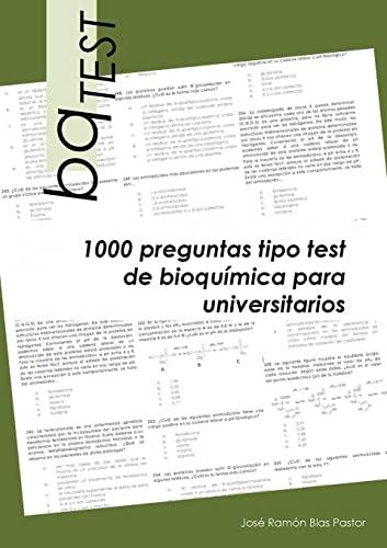 9781291319675: BqTEST: 1000 Preguntas Tipo Test De Bioquimica Para Universitarios