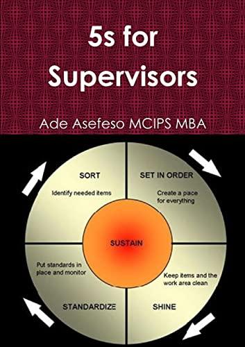 9781291331813: 5s for Supervisors